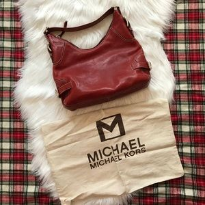 Michael Michael Kors Red Shoulder Bag
